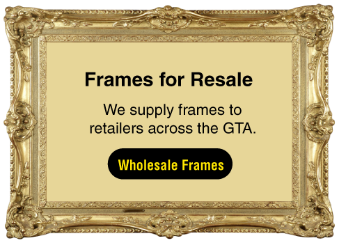 Frames for Resale